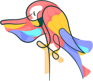 colorful-illustrated-bird